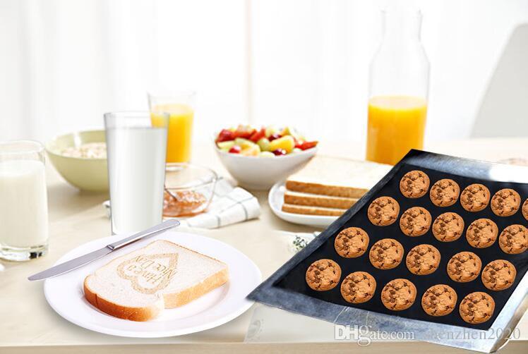 바베큐 그릴 라이너 바베 큐 구리 그릴 매트 휴대용 비 스틱 및 재사용 가능한 33 * 40 CM 0.2 MM 블랙 골드 오븐 뜨거운 번호판 매트