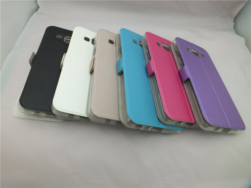 View Window Leather Case for Huawei P9 P9 Plus Y3II / Y3-2 Y5II/ Y5-2 Honor 5C Lenovo A7010/K4 Note A536 Vibe X3 S90 S60 Stand Flip Cover