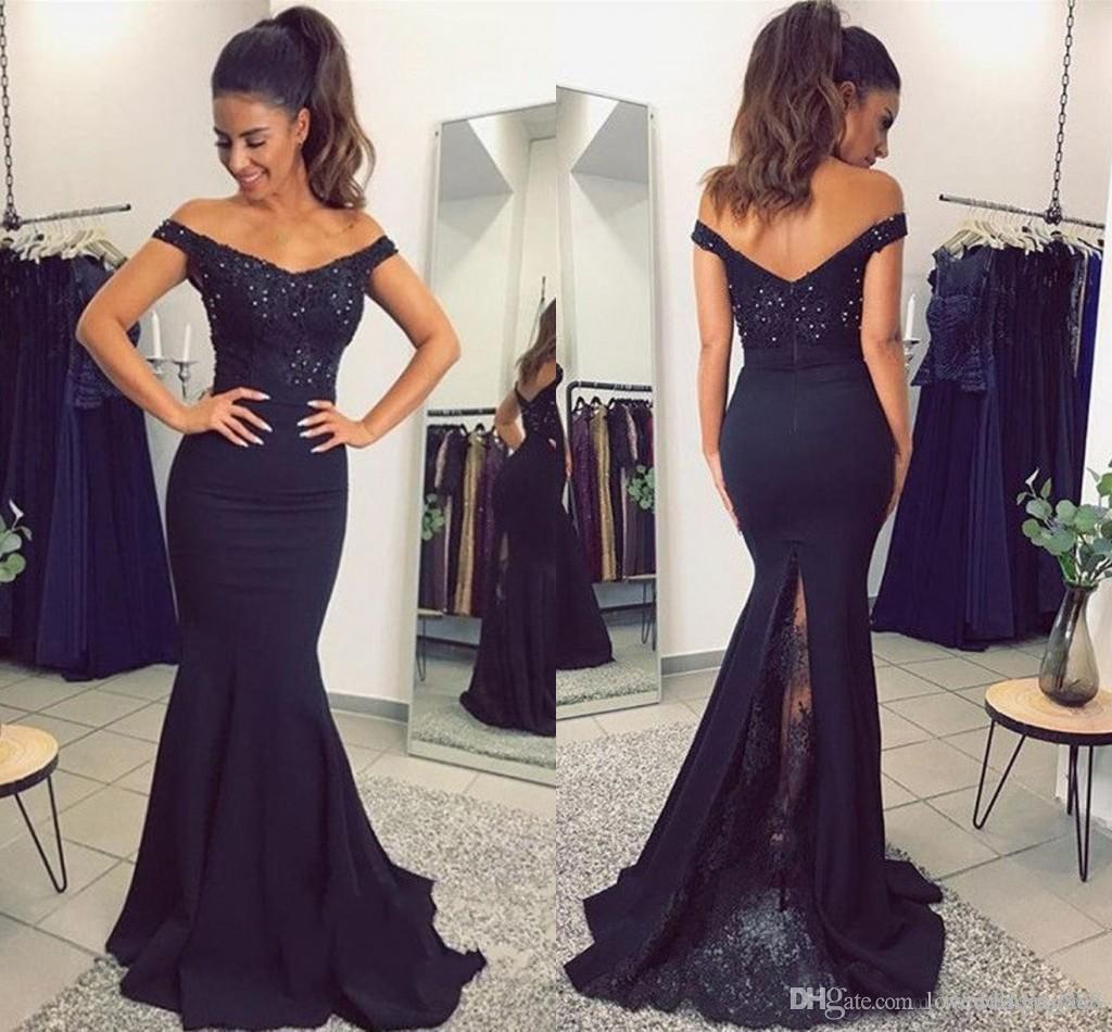 Imagenes de vestidos elegantes azules