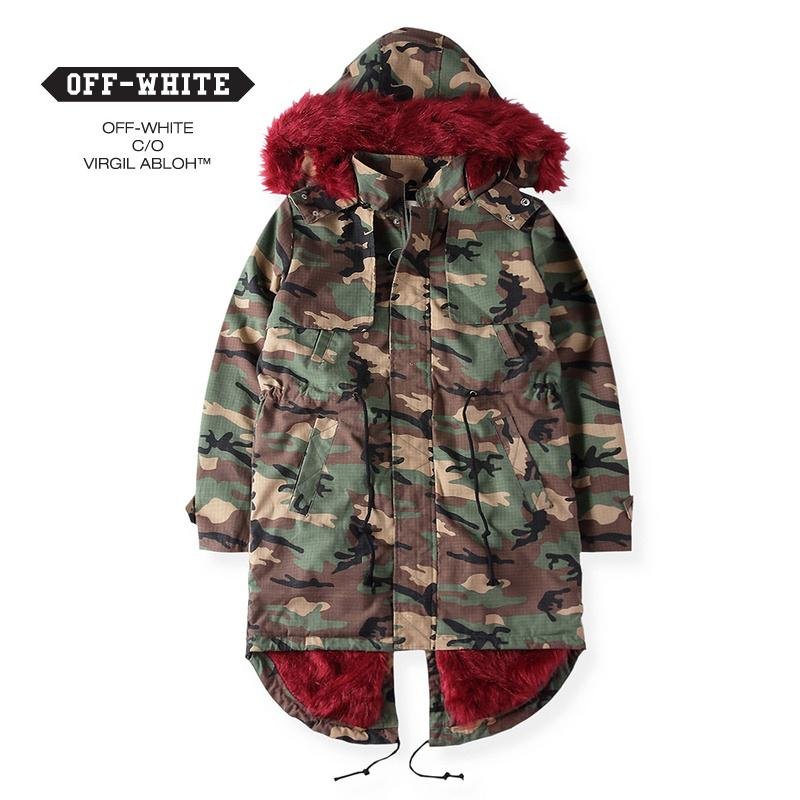 Winter High Quality Off White C/O Virgil Abloh Jacket Men Women ...