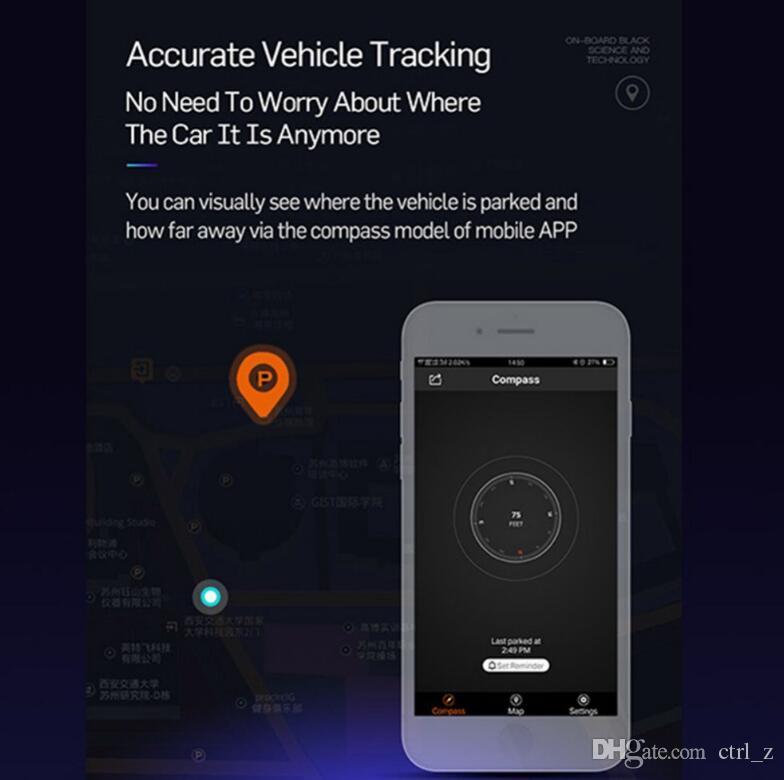 Individua l'adattatore del caricatore del USB della porta universale doppio dell'automobile di E5 il cellulare GPS che parcheggia Accendino più leggero Accessorio dell'automobile LED Display digitale