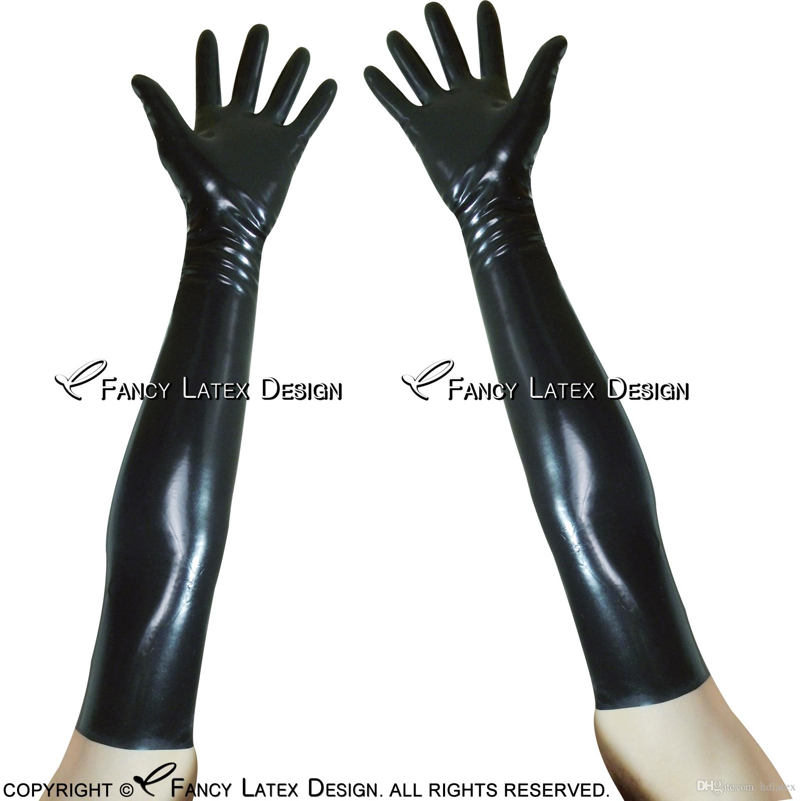 rubber arm fetish