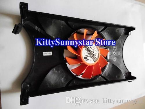 Power Logic PLA08015B12HH 12V 0.35A Vga вентилятор с черной крышкой для видеокарты