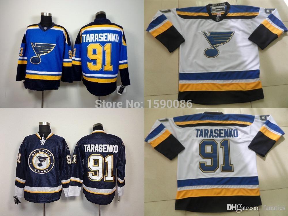 low priced 97c70 f0805 Authentic 2016 St.louis Blues Jerseys VLADIMIR TARASENKO Jersey #91  Wholesale St. Louis Blues Cheap Ice Hockey Jerseys China