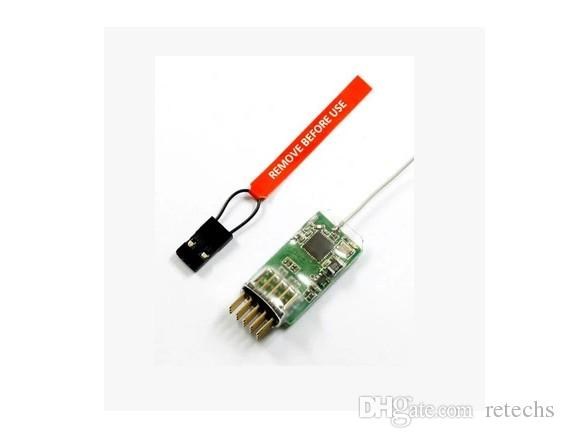 AR4100E MICROLITE 4CH DSM2 / DSMX Receiver , Support DSX7/DSX9/DSX11/DSX12 and DX6i/DX7/DX8 For DEVO JR