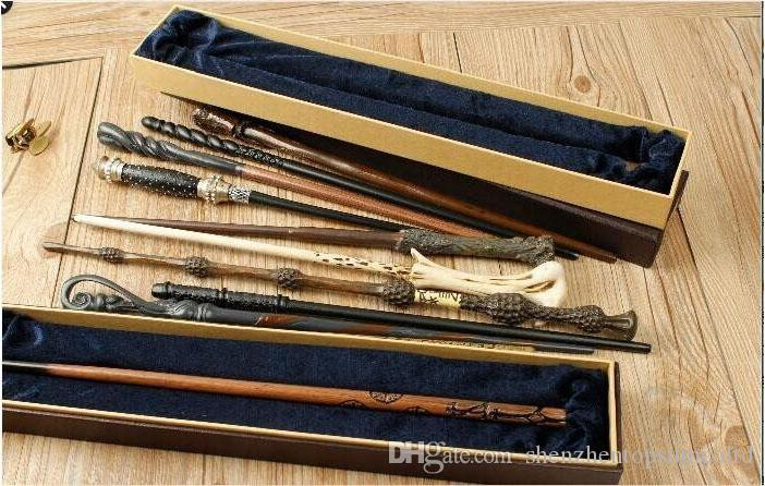 Event & Party Supplies Souvenirs with iron core 22 type Deluxe Hogwarts Magic Magical Wand Wizard Advanced Edition