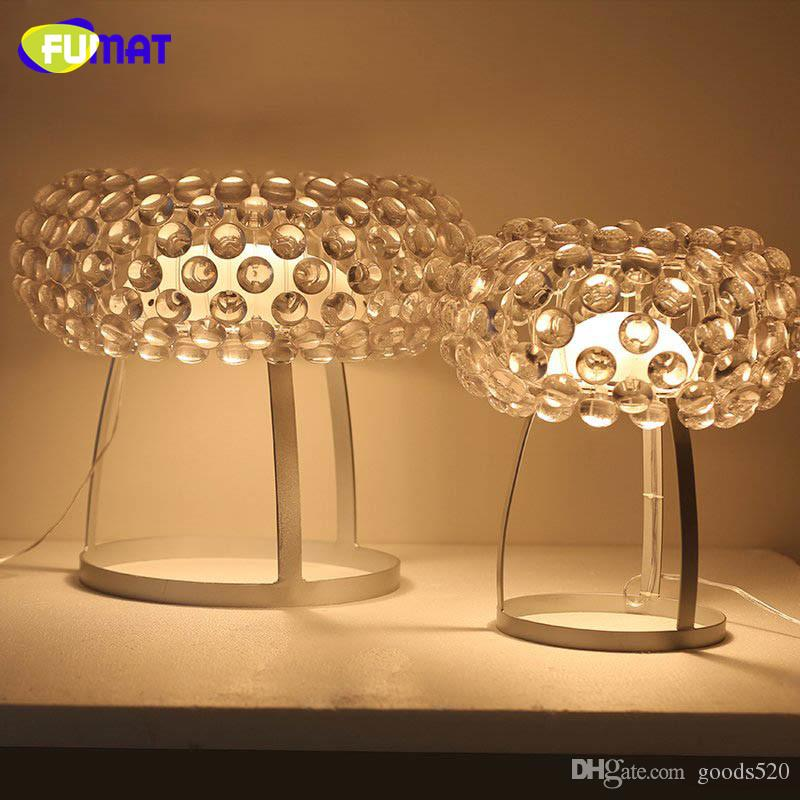 Best Fumat Foscarini Caboche Table Lamp Organic Acryl Light Bedroom Modern Simple Study Desk Loft Clear Gold Under 197 99 Dhgate
