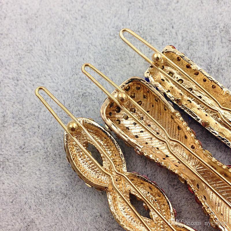 Mix Style Fashion metallo fermagli capelli Barrette corona tornante accessori le donne ragazze clip di capelli pin morsetto fermaglio hairgrip ornamenti