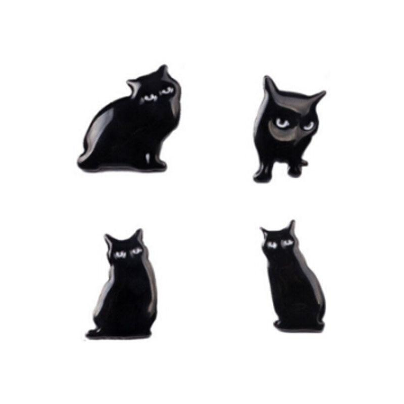 Wholesale- New Women Girl Accessories Fashion Cute Cat Brooches ... bda0478976