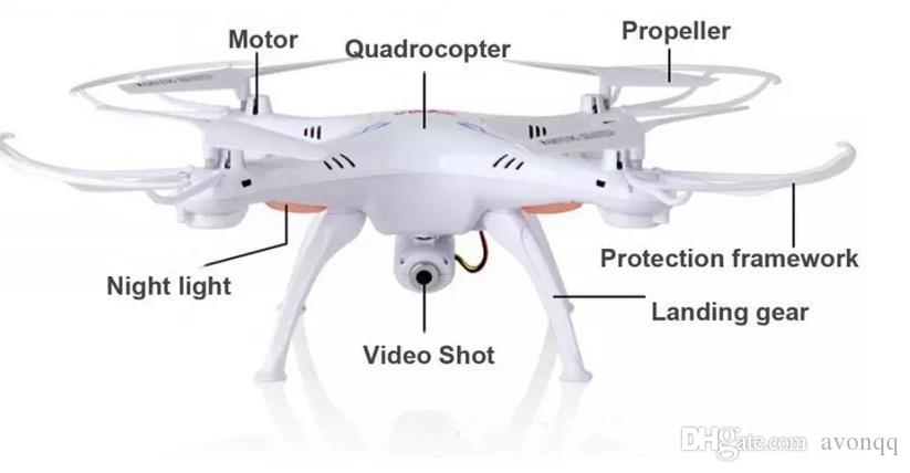 SYMA X5SW WIFI RC Drone Dron 2.4GHz 4CH RealTime HD FPV Camera RC Helicopter Drones 6 Axis Quadcopter Gyro Quad copter b668