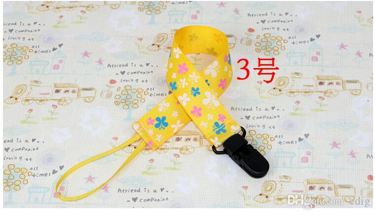 Baby Boys Girls Newborn Dummy Nipple Pacifier Soother Leash Strap Clips Drop-resistant Anti-Lost Holder Chain
