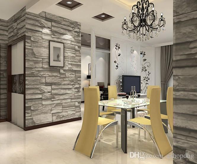 Wohnzimmer Oesterreich Style : Großhandel chinese style esszimmer d wallpaper stein ziegel
