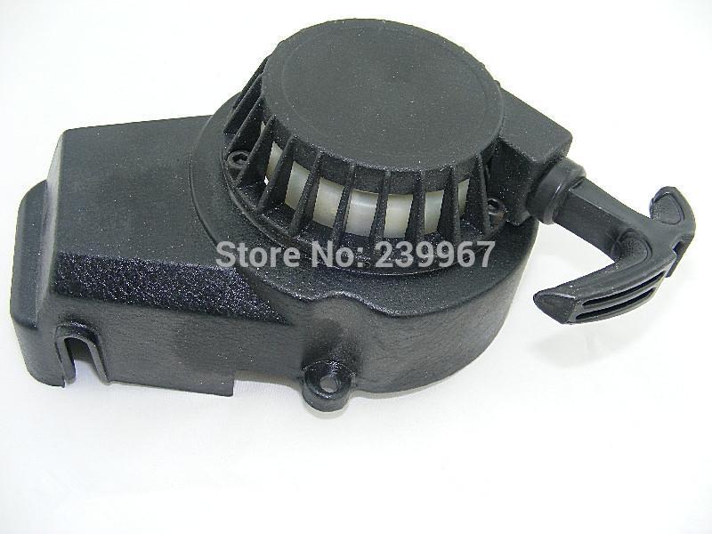 Recoil starter 4 teeth easy start for 1E44F-6 44F-6 49CC 2 stroke SQ49ST petrol pull start scooter mini bike parts