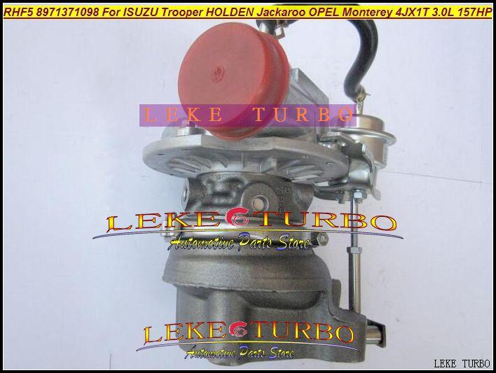 RHF5 8971371098 Turbo Turbocharger For ISUZU Trooper 1999-04 HOLDEN Jackaroo OPEL Monterey 4JX1TC 4JX1T 3.0L 157HP (5)