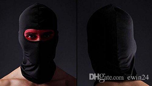 Couverture de cagoule de masque complet pour le visage protège de la poussière du soleil et du soleil pour masque de moto