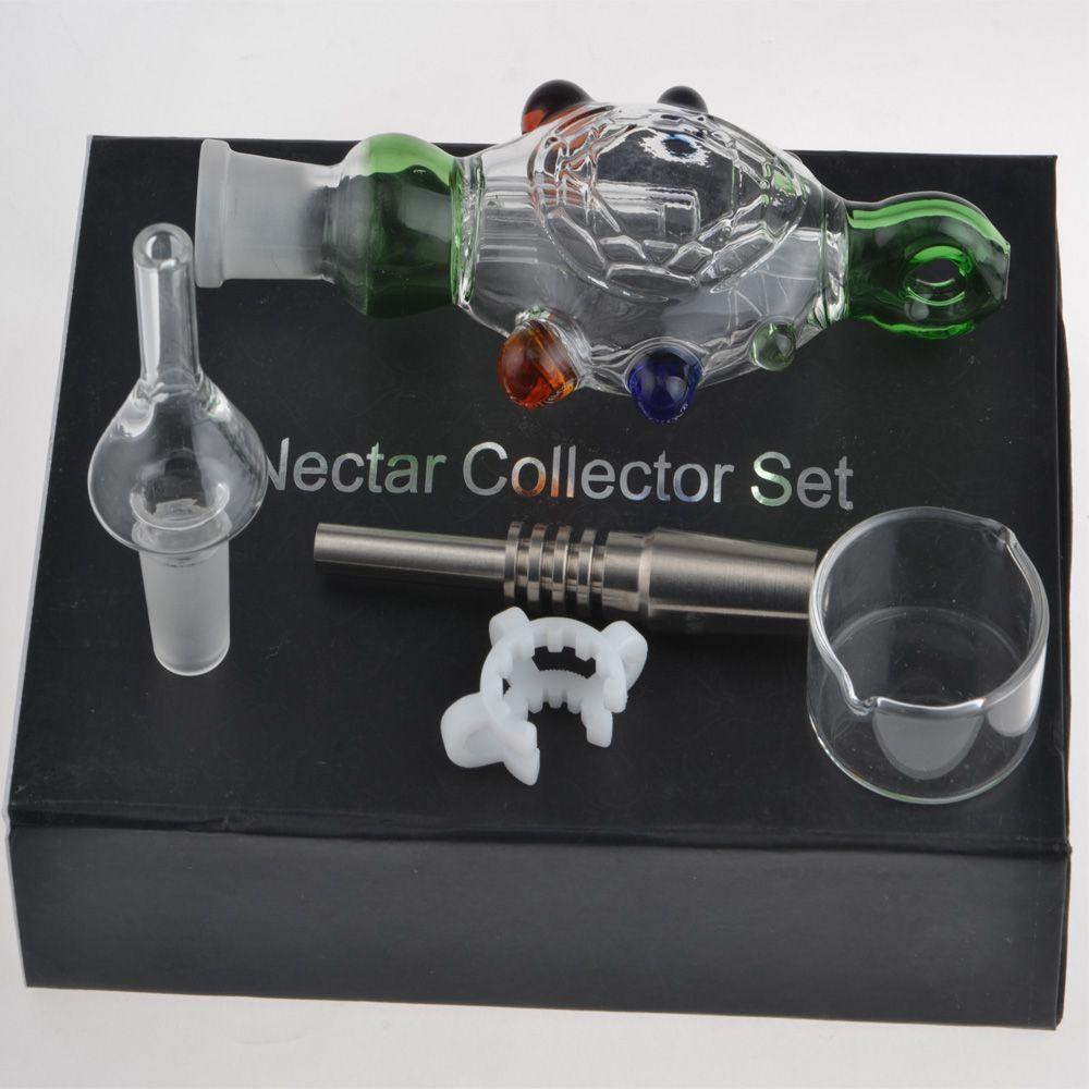 14 MM NC Kit Com Embalagem Individual Ponta De Quartzo Ponta Titanium Água Bong Catcher Titanium Prego Tubulação De Fumo De Água