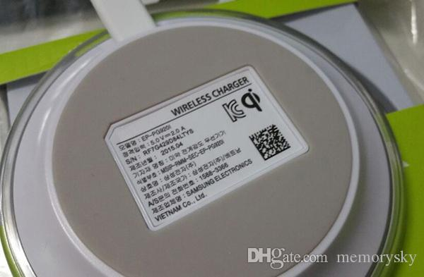 Générateur 1ère Qi chargeur sans fil émetteur Pad plaque de charge rapide pour Samsung S6 avec boîte de détail