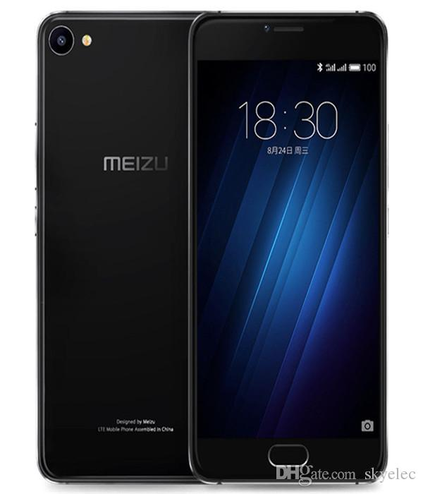"Meizu U20 Smartphone Mtk Helio P10 Core 5.5"" Fingerprint Dual Sim Original High Speed Flash Full Screen Joint Carrying Eight Core Processor"