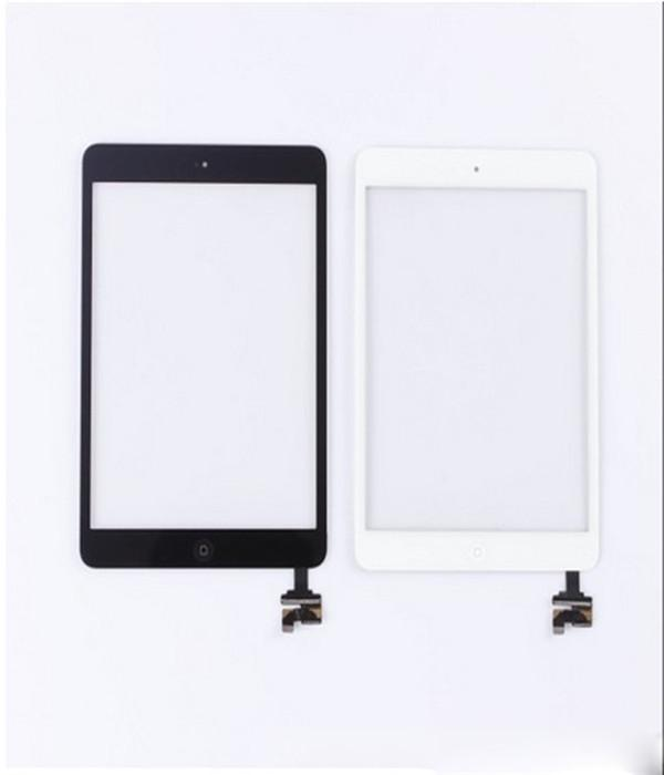 Touch Panel Complete Touch Screen Digitizer Assembley With IC For IPad Mini Mini 2 Touch Panel With Home Button Black White AF693 ipad 1 lcd