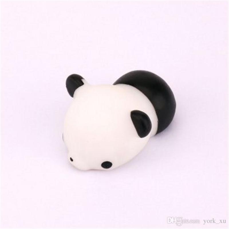 Nueva Squishy Slow Rising Toy Bun Toys Animales de dibujos animados Toy Mini Cat Squishiy Moda Rare Animal Gifts Charms zpg285
