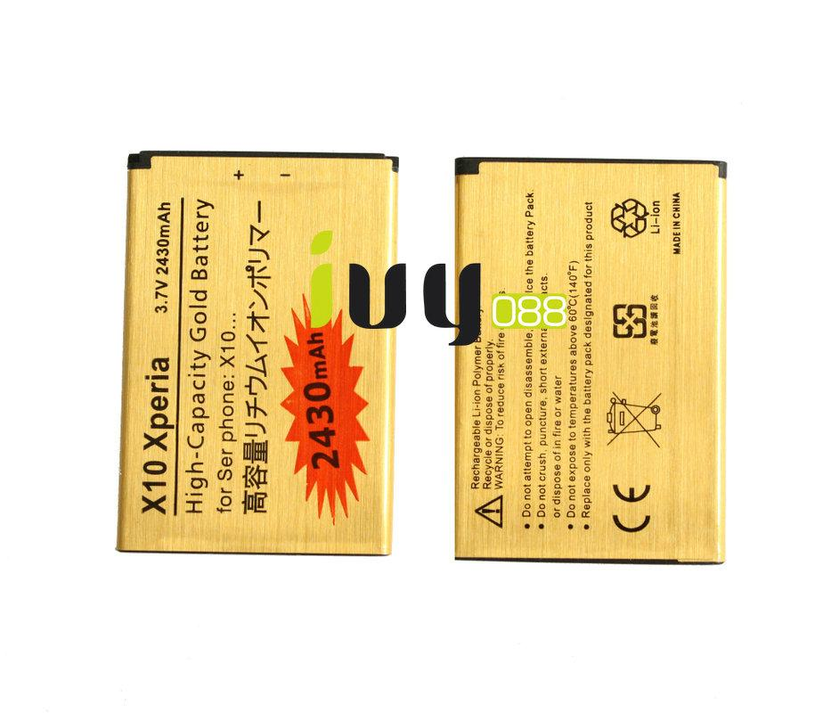 / 2430mAh or batterie de remplacement pour Sony Xperia X10 BST-41 Xperia X1 / X2 / A8i / M1i Xperia PLAY