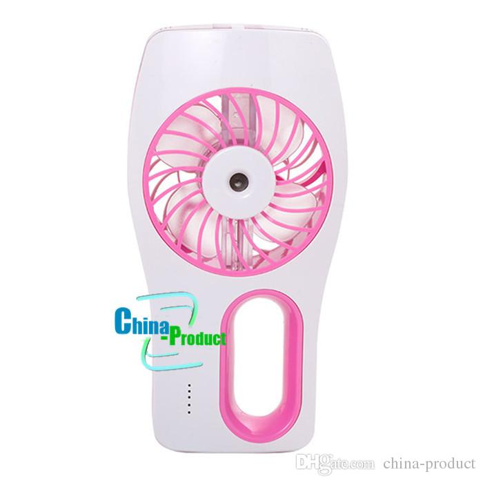 USB Humidifier Water Cleaning fan Office indoor portable fan Hot Sale mini air conditioning Handheld Cooling