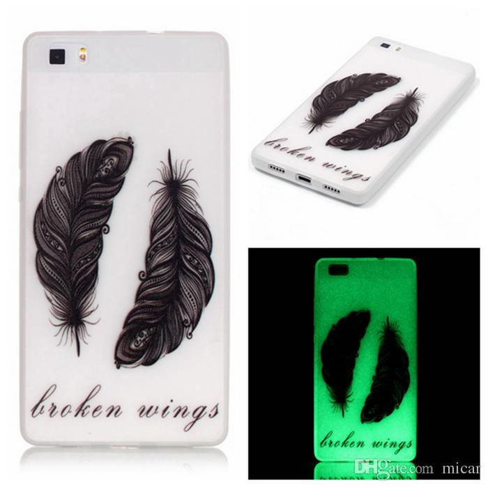 For Galaxy S4 Mini J5 G360 S5 S6 for LG G5 K10 Love Tree Glow In Dark Soft TPU Case Deer Tower Skin