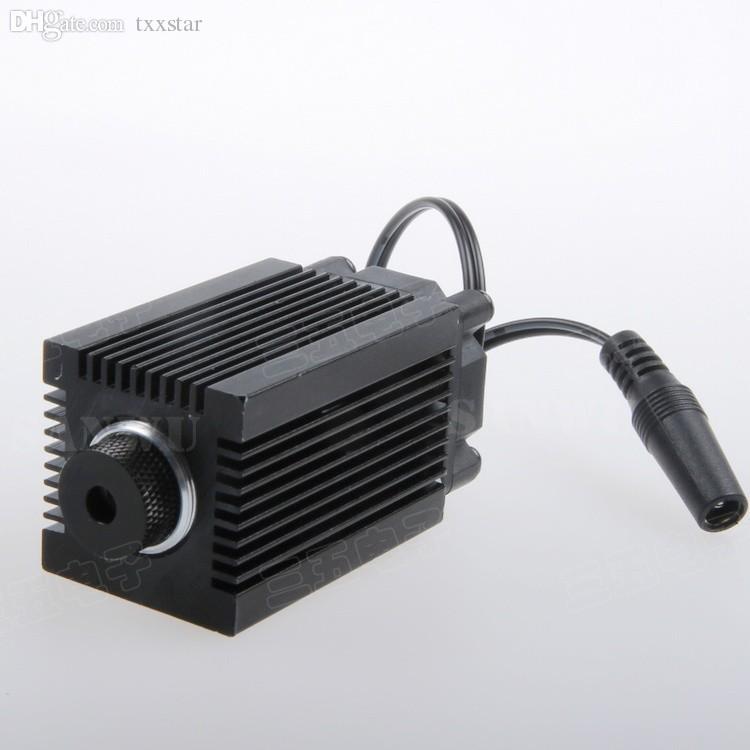 Moduli laser blu-viola 1000 mW / 1600 mW 1.6 W Obiettivo con supporto Dissipatore di calore mini macchina incisione laser ad alta potenza lunghezza d'onda 450nm