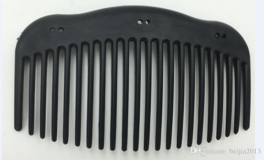 Бесплатная доставка высокое качество многофункциональный 10 * 6 см деревянный стиль волшебный пластиковый гребень для волос, женские заколки для волос аксессуары для волос