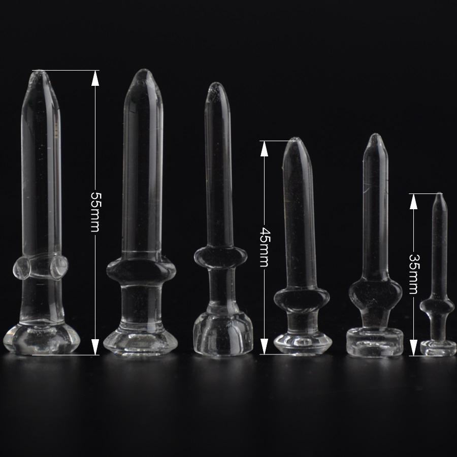 Clous de verre pour 10 14,5 18,8 tailles de conduites d'eau en verre bongs dôme d