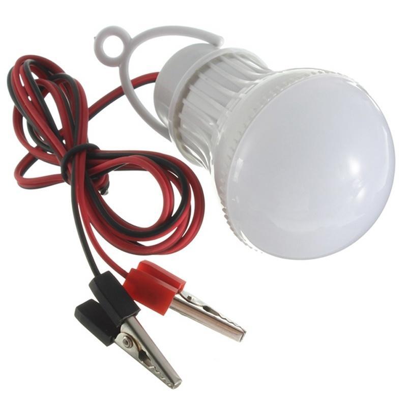 Großhandel 12v Led Lampe 5w 7w 9w 12w 15w Mit Draht Kabelklemme Home ...