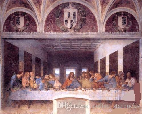 2018 the last supper jesus christ by leonardo da vinci hand painted