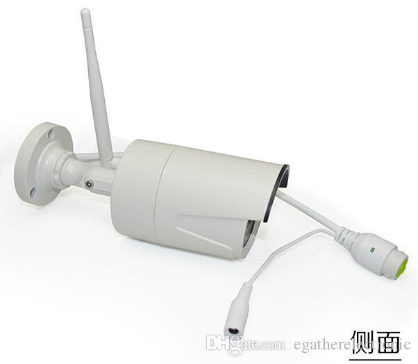 Kit CCTV Caméra IP Sans Fil Wifi 4CH Extérieur HD 960P Système NVR IR Extérieur et Intérieur P2P Kit de Surveillance pour Système de Sécurité Caméra IP