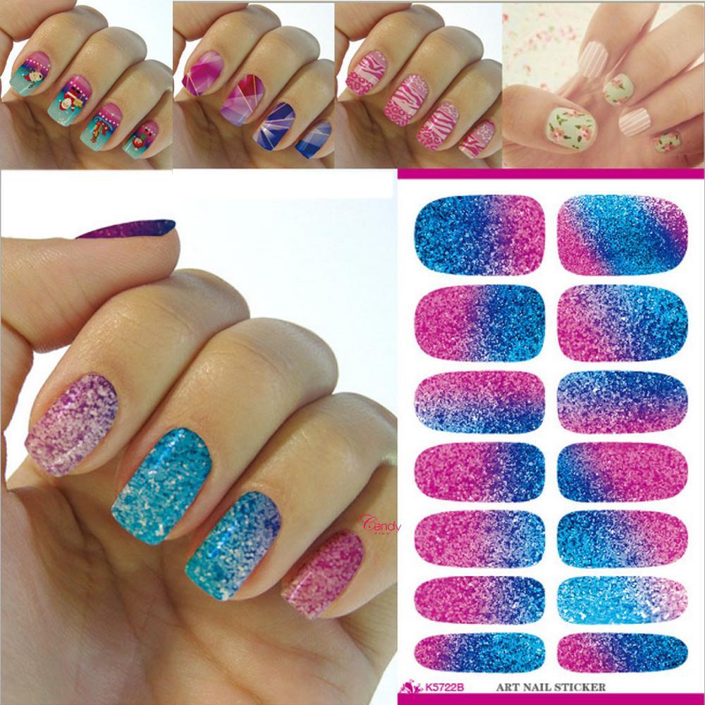 K5722b Nail Art Sticker Nails Diy Nails Art Sticker Colorful Nail