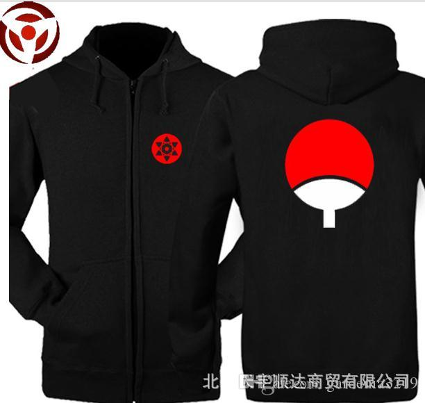 La nueva ropa de otoño e invierno suéter de los hombres Naruto Sasuke Uchiha TuanShan chaqueta ropa sweatershirt