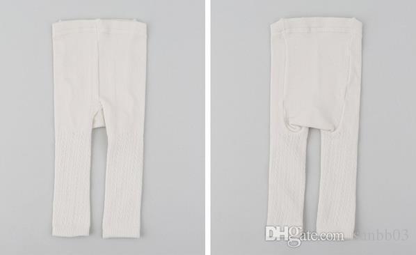 Spring Summer Baby Infant Leggings Hollow Out Capri Pants Girls Cotton Leggings Kids Panty-hose Children Leggings 11356