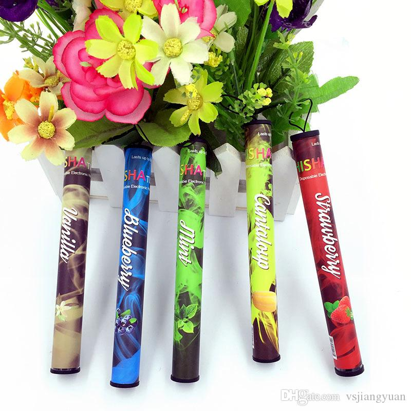 On sale !!! E ShiSha Time Disposable Cigarette E HOOKAH 500 Puffs Various Fruit Flavors Colorful SHISHA TIME Pens Electronic Cigarette DHL