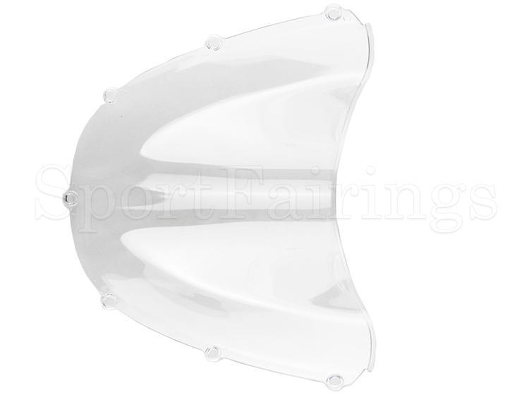 Carenado partes ABS Plásticos doble burbuja clara motocicleta parabrisas para Honda CBR900RR 954 año 2002 2003 parabrisas