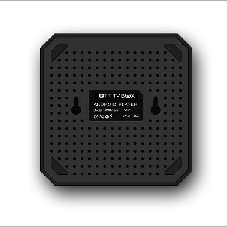 2 GB 16 GB X96 mini caixa de tv s905W teclado sem fio combo vendido a melhor preço Melhor Android 7.1 Media Box + i8 Air mouse
