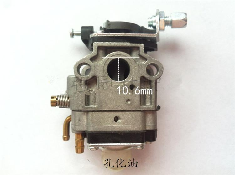 17mm Carburetor membrane type for Chinese 1E36F 36F 1E34F 34F 1E32F 32F grass trimmer hedge trimmer brush cutter