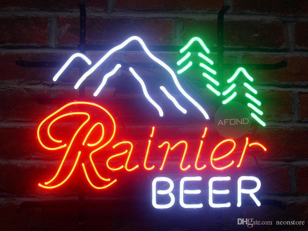 2019 New Rainier Beer Neon Sign Neon Sign Cheap Light For