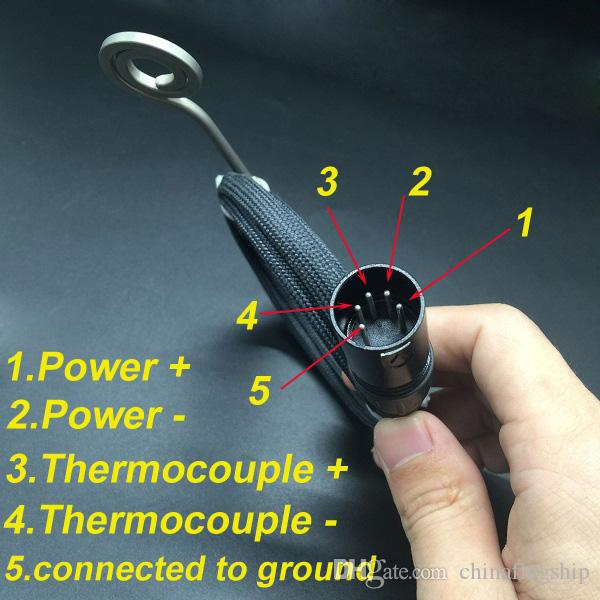 Высокое качество 110 В 220 В 100 Вт нагреватель Размер катушки 20 мм 16 мм Flat10 мм катушки нагреватель 5 контактов XLR штекер нагреватель катушки горячий бегун на складе