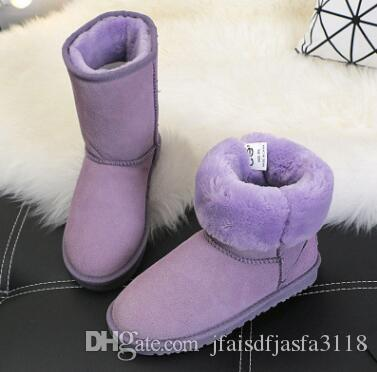 2017 will sell the new real Australian WGG5821 high quality kids boy girl children baby warm snow boots juvenile student snow winter boot fr