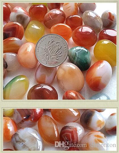 Aquarium décorations pierres d'aquarium produits de haute qualité décoration paysage galets Riverstones pierre de couleur pierre pierre brute DT18