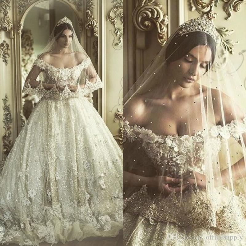 Wedding Dresses 2017 Vestido De Noiva Sexy Off Shoulder Bridal