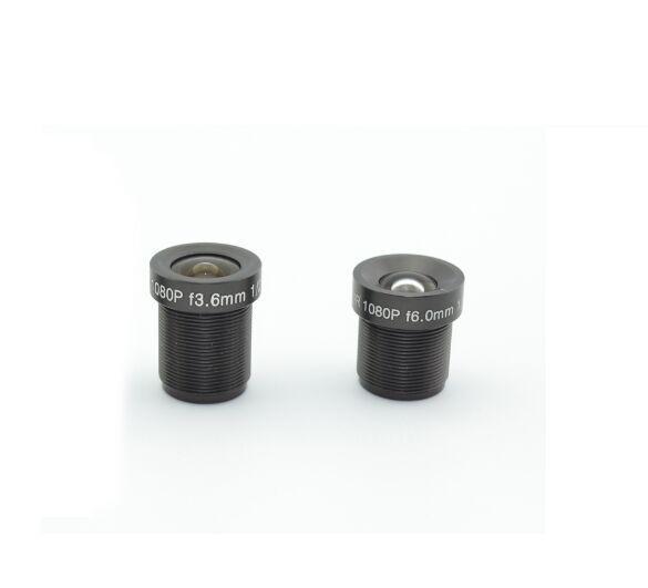 CCTV Lens 2MP 1080P 3.6mm / 6mm Opzionale HD Full HD CCTV Camera 1080p IP Camera M12 * 0.5 MTV Mount, spedizione gratuita