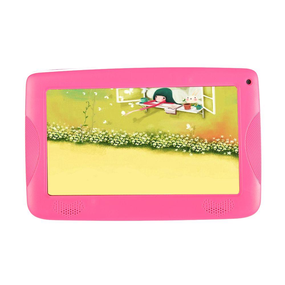 2017 Nuovo Arrivo 7 pollici Bambini Tablet Quad Core RK3126 Google Android 4.4 Gingerbread 1 GB ram 8 GB Rom colorato Regalo Di Compleanno regalo di cr ...