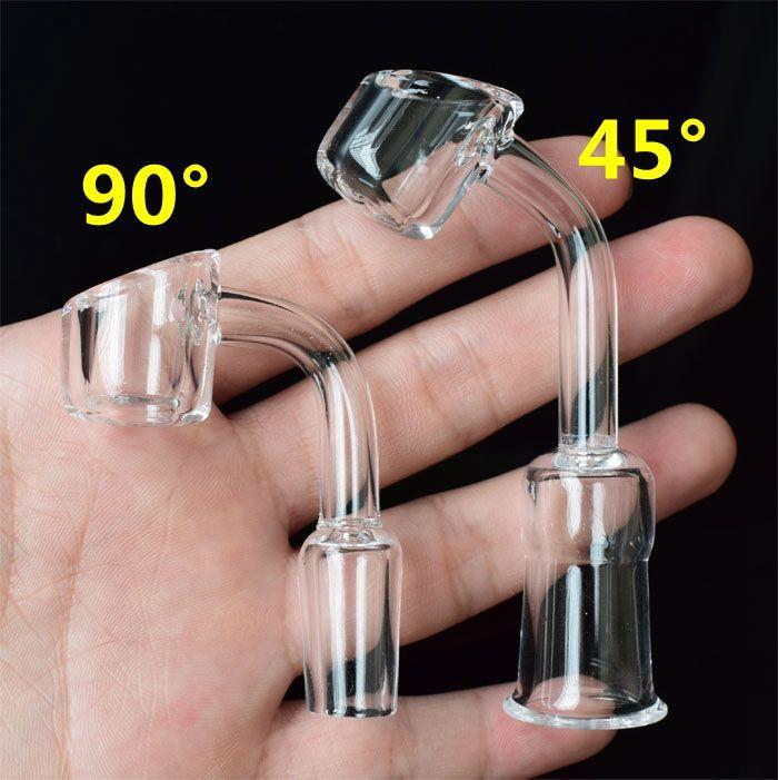 4mm Thick Club Rauchen Schüssel Quarz Banger Nagel Quarz Domeless Nagel Männlich Weiblich Schüssel 10/14/18mm Quarz Nagel