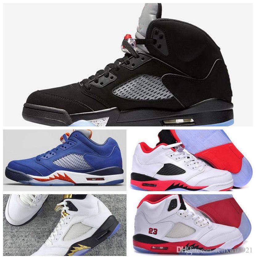 buy online b7058 4e9b9 air jordan 5 v mens shoes white red online cheap