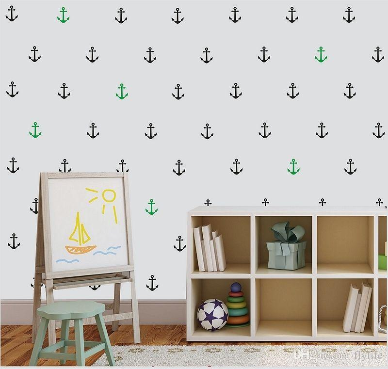Anchor Wall Art diy anchor wall art stickers removable kids nursery vinyl room